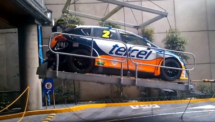 Seat Leon Cupra rally car