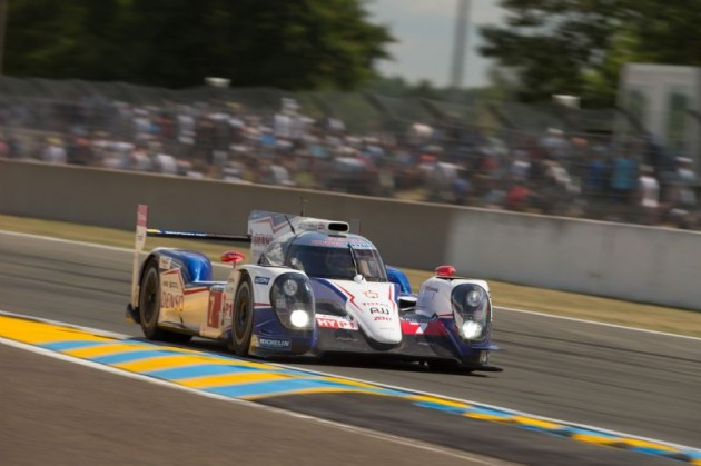 Toyota TS040 Hybrid at 2014 Le Mans