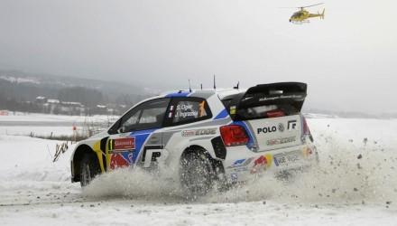 Volkswagen Polo R WRC snow