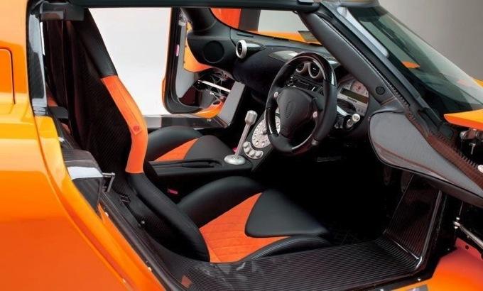 2008 Koenigsegg CCX Interior