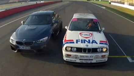 2014 BMW M3 vs 1992 BMW M3 DTM
