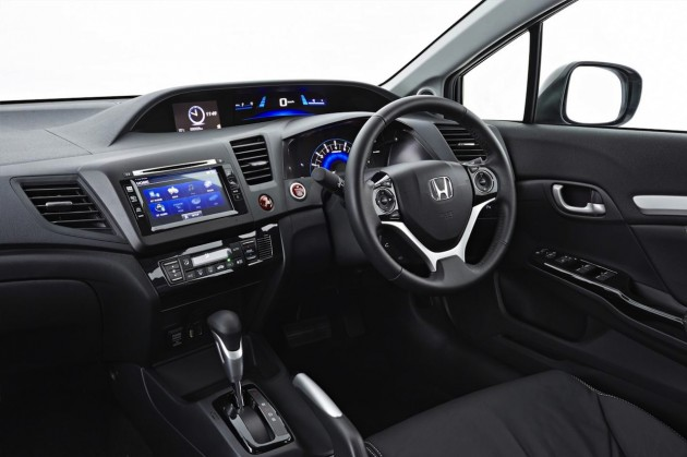 2014 Honda Civic Sedan interior
