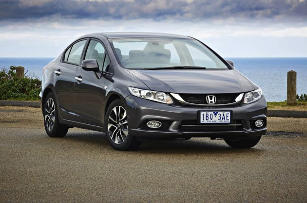2014 Honda Civic sedan front exterior
