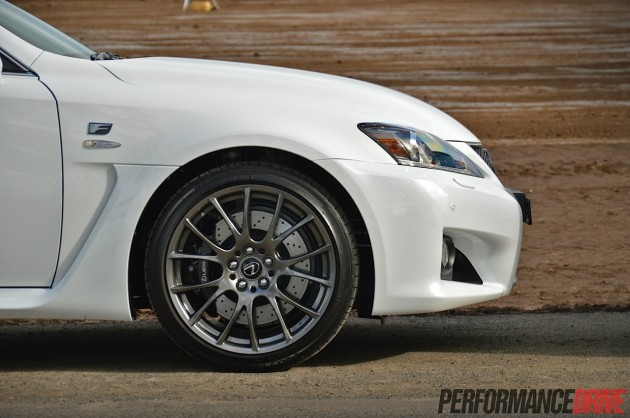 2014 Lexus IS F-brakes