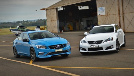 2014 Lexus IS F vs Volvo S60 Polestar