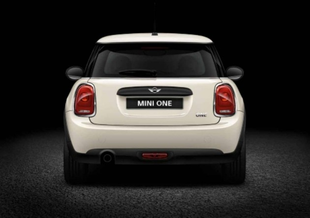 2014 MINI One-rear
