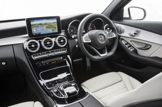 2014 Mercedes-Benz C-Class-interior