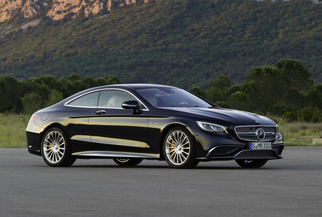 2014 Mercedes-Benz S 65 AMG Coupe-blue