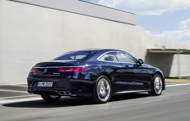 2014 Mercedes-Benz S 65 AMG Coupe-rear