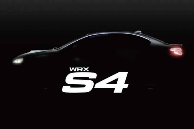 2014 Subaru WRX S4 teaser