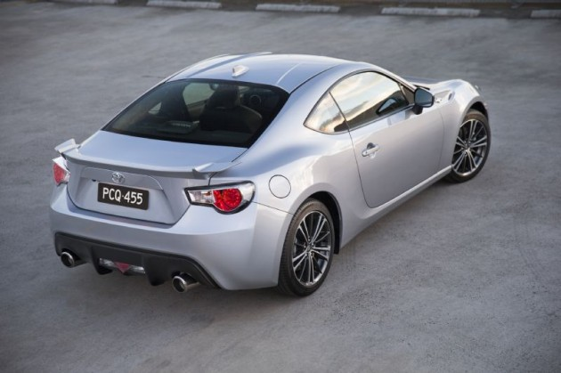 2014 Toyota 86 GTS-rear