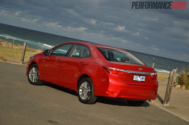2014 Toyota Corolla ZR sedan-rear