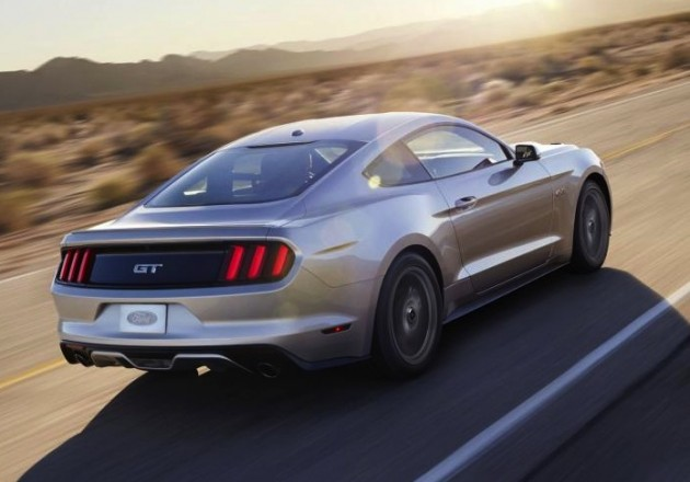 2015 Ford Mustang GT-rear
