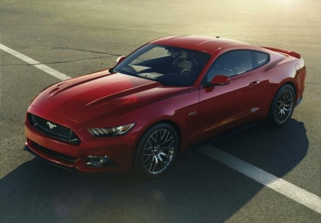2015 Ford Mustang GT-red