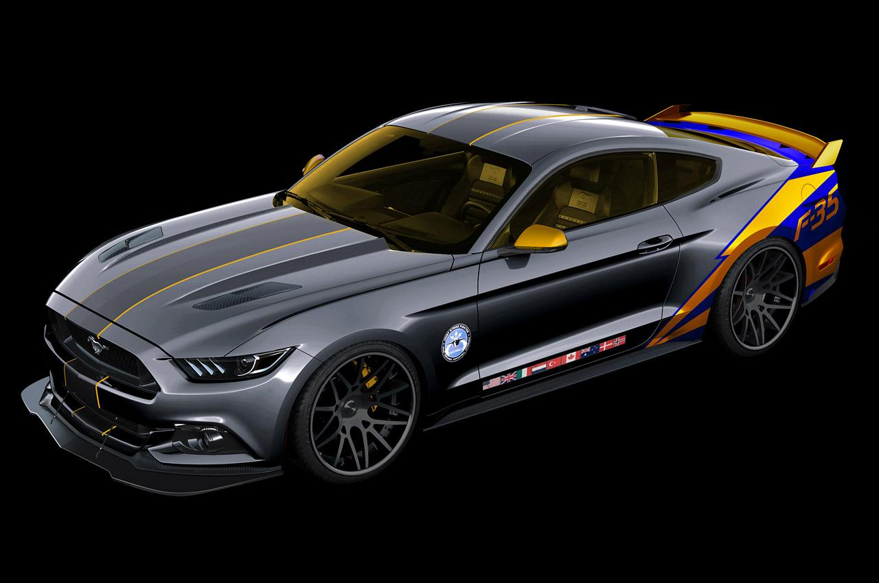 Audi Sales Event >> 2015 Ford Mustang 'Lockheed Martin F-35' built for charity ...