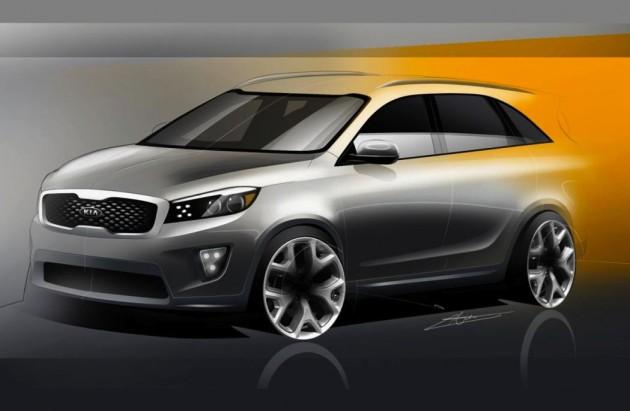 2015 Kia Sorento rendering