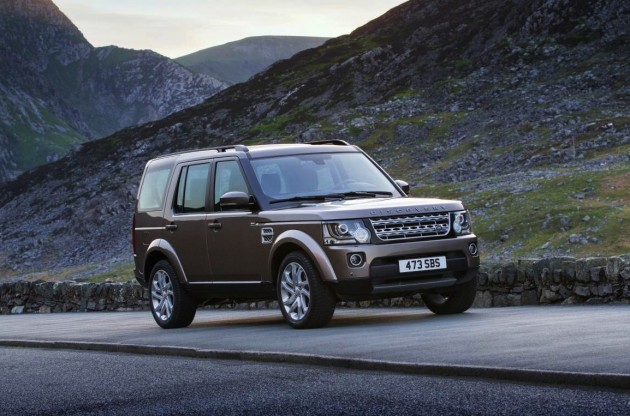 2015 Land Rover Discovery-road