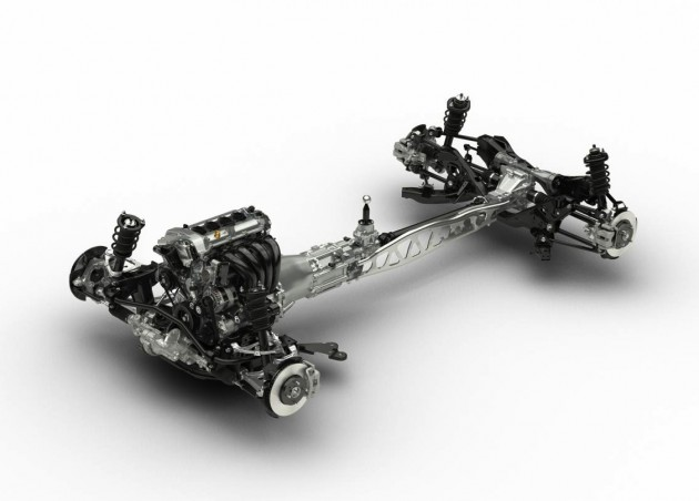 2015 Mazda MX-5 chassis