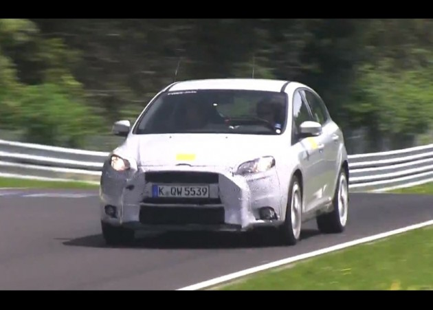 2016 Ford Focus RS prototype