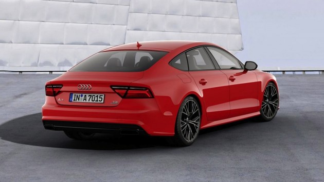 Audi A7 Sportback 3.0 TDI Competition-rear