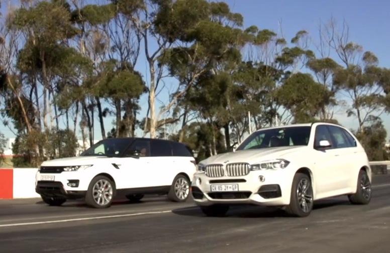 Race BMW X5 M50d vs Range Rover Sport V8  PerformanceDrive