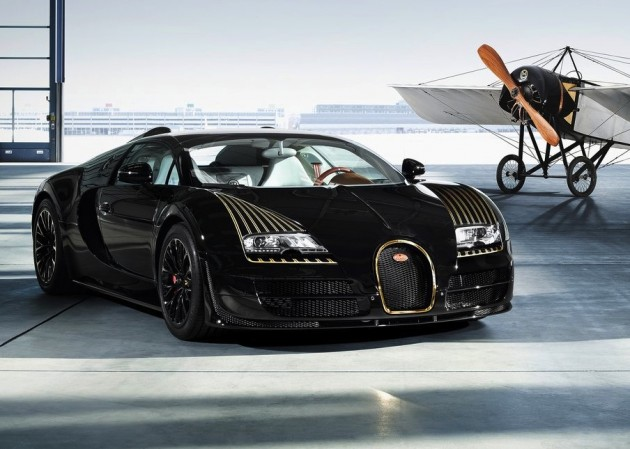 Bugatti Veyron Black Bess edition
