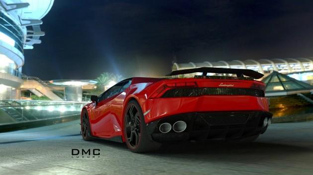 DMC Affari Lamborghini Huracan-rear diffuser