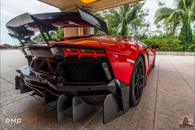 DMC Lamborghini Aventador LP988 GT Edizione-rear wing