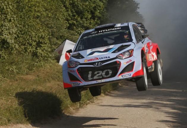 Hyundia i20 Rally of Poland 2014