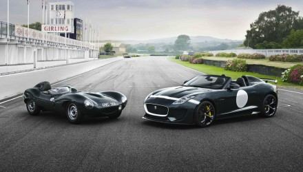 Jaguar F-Type Project 7 and D-Type