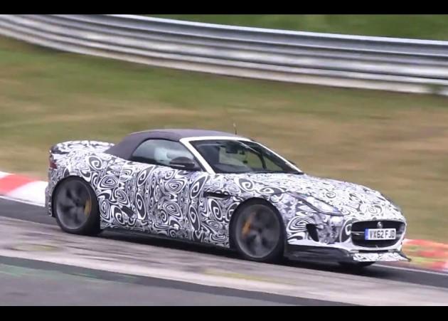Jaguar F-Type RS prototype