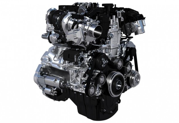 Jaguar Land Rover Inenium engine family