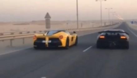 LaFerrari vs Lamborghini Sesto Elemento