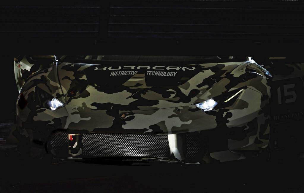 Lamborghini Huracan Super Trofeo racer previewed