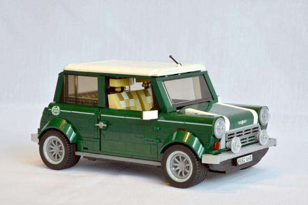 Lego Mini Cooper British Racing Green