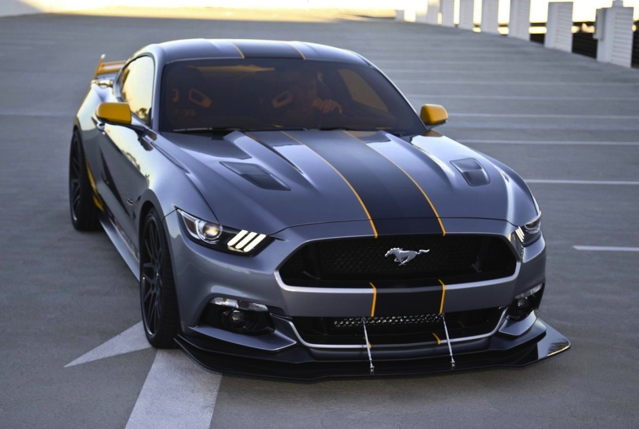 Lockheed Martin F-35 Lightning 2015 Ford Mustang revealed