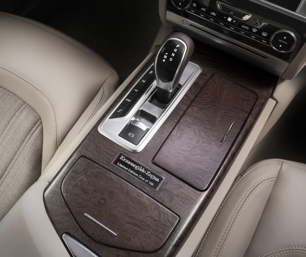Maserati Quattroporte Zenga Limited Edition interior