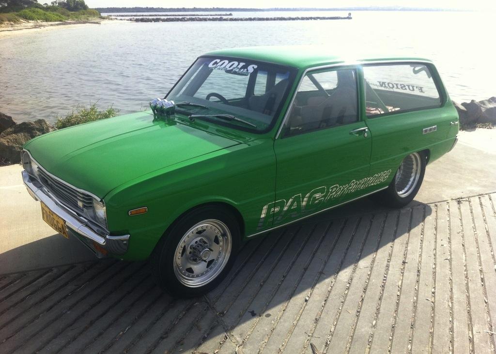 For Sale: 1973 Mazda 1300 'FROGGA' wagon