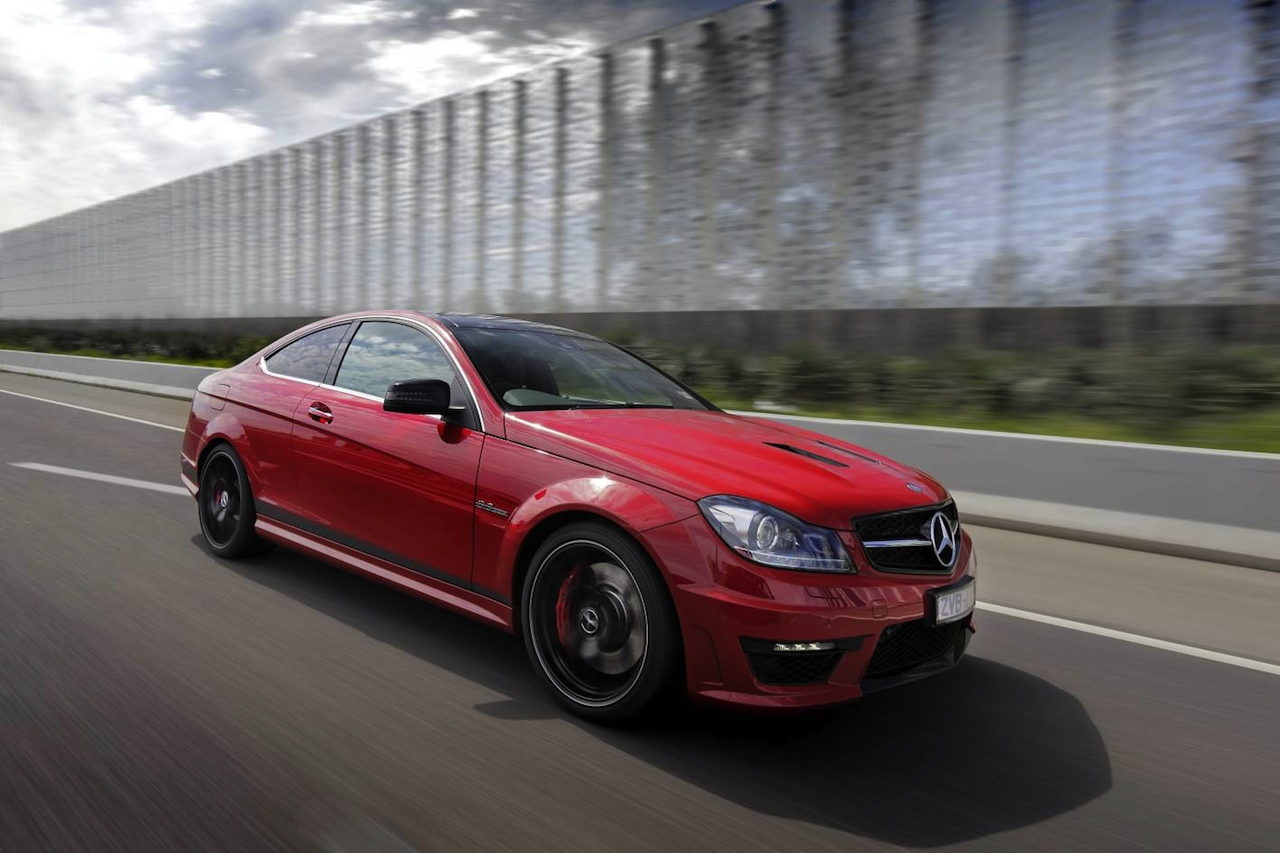 Mercedes–Benz C 63 AMG Edition 507 coupe recieves $13k price cut
