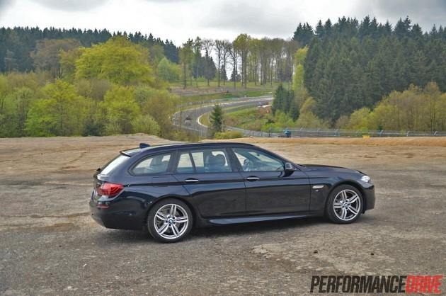 Nurburgring Brunnchen-2014 BMW 520d