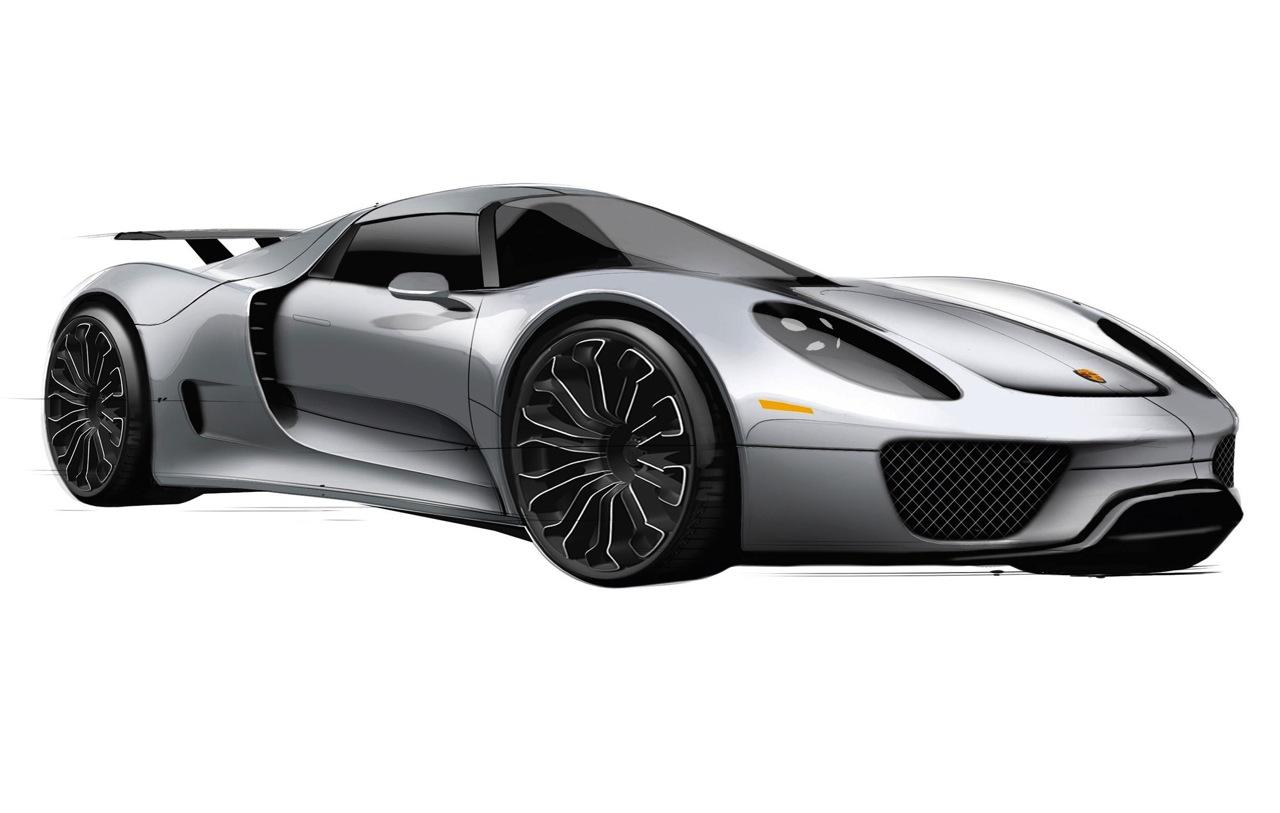 Porsche '988' (Ferrari 458 rival) to use flat-eight, quad-turbo – report