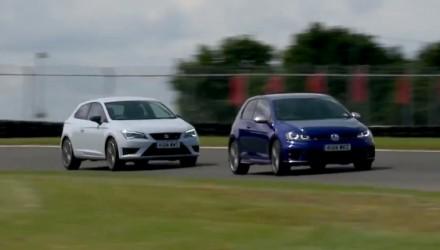 SEAT Cupra 280 vs Volkswagen Golf R