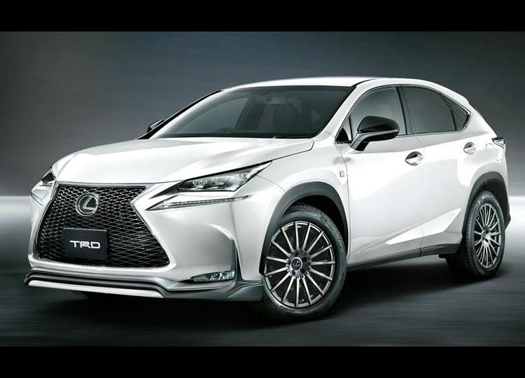 TRD enhancements for new Lexus NX announced