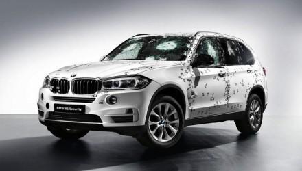 2014 BMW X5 Security shots