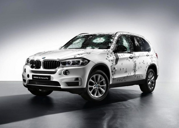 2014 BMW X5 Security shots