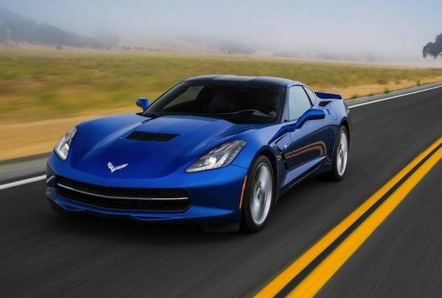 2014 Chevrolet Corvette Stingray-blue