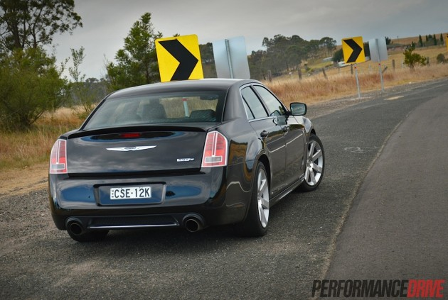 2014 Chrysler 300 SRT8-Australia