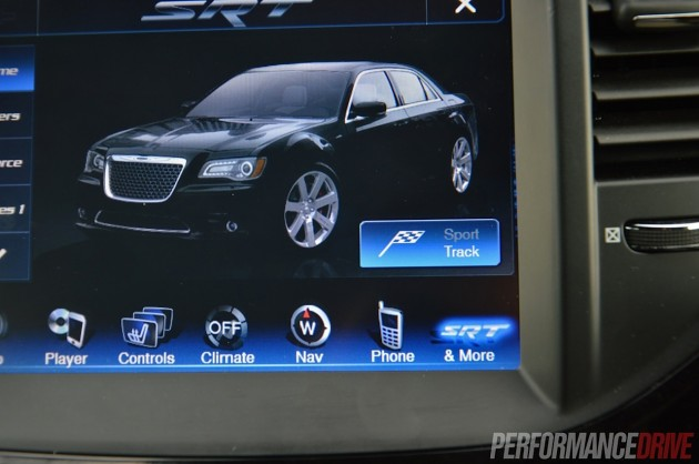 2014 Chrysler 300 SRT8-Track mode