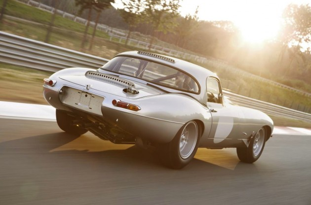 2014 Jaguar Lightweight E-Type-rear