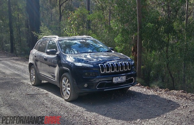 2014 Jeep Cherokee Limited-off road